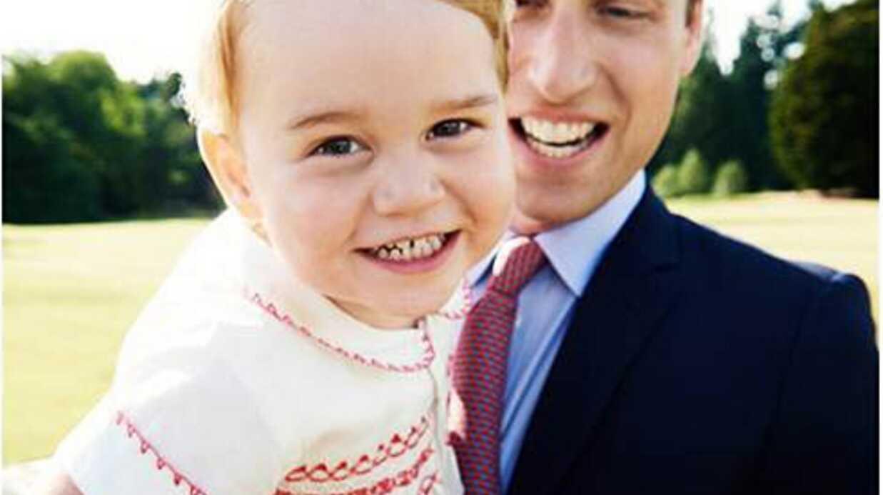 La famille royale dévoile une adorable photo du prince George