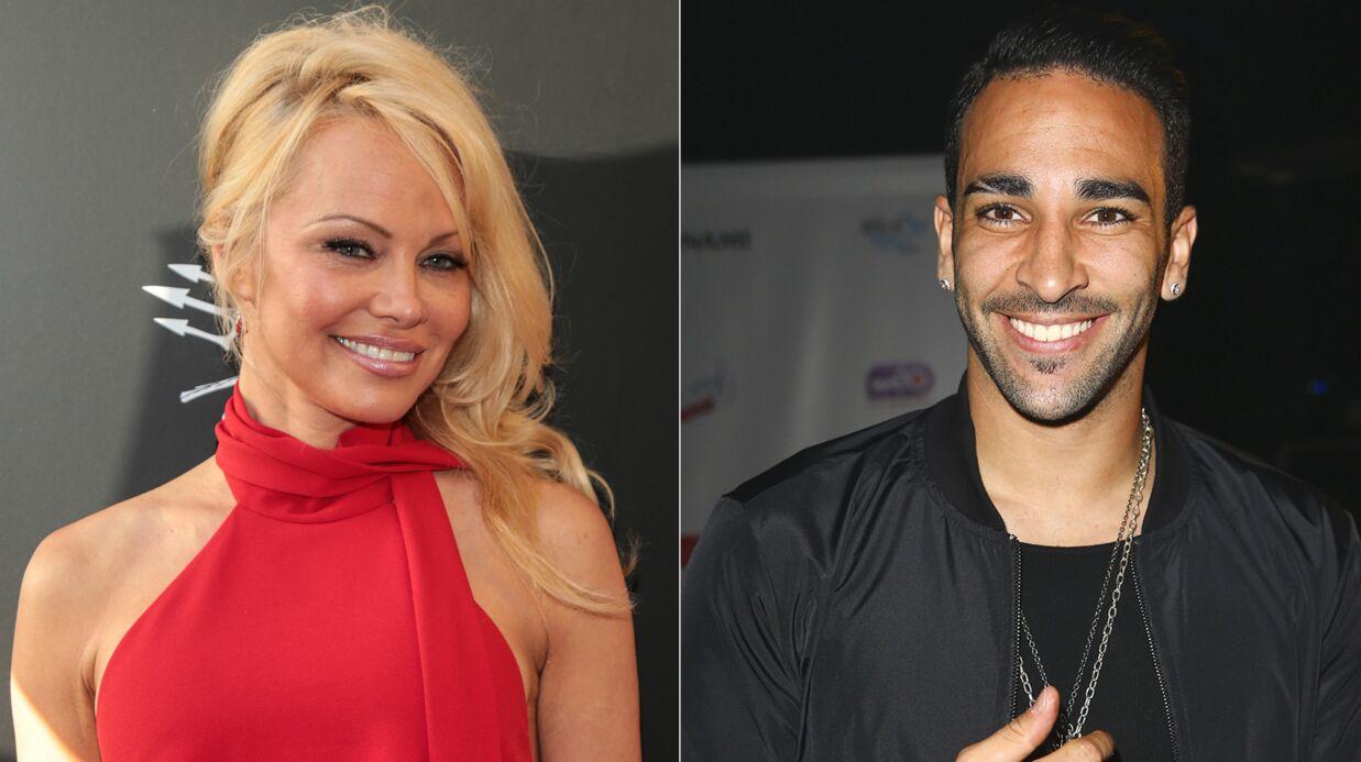 EXCLU Voici – Pamela Anderson en couple avec le footballeur français Adil Rami