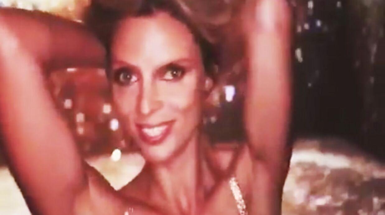 Sylvie Tellier ressort une vidéo sexy de son passage dans Danse avec les stars