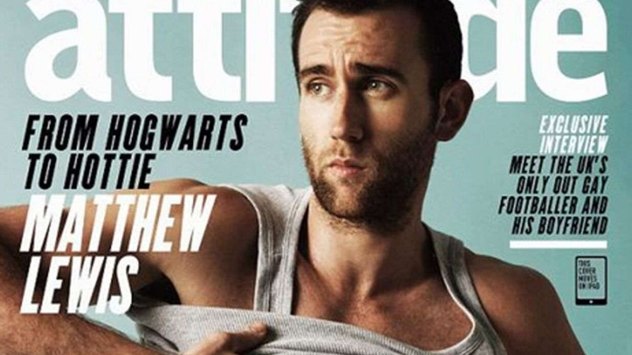 PHOTOS Matthew Lewis : Neville Londu­bat d'Harry Potter est devenu un Apol­lon