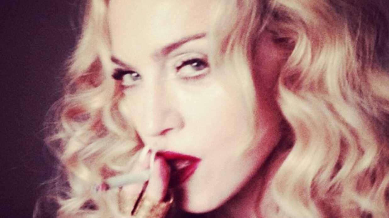 Madonna poste une photo d'elle avec des aisselles poilues