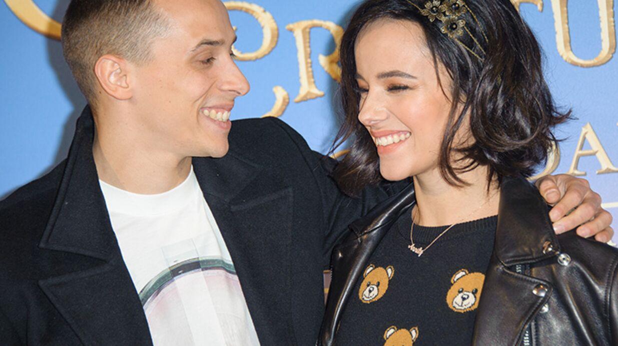 DIAPO Alizée et Grégoire Lyonnet fous amoureux à l'avant-première de Clochette