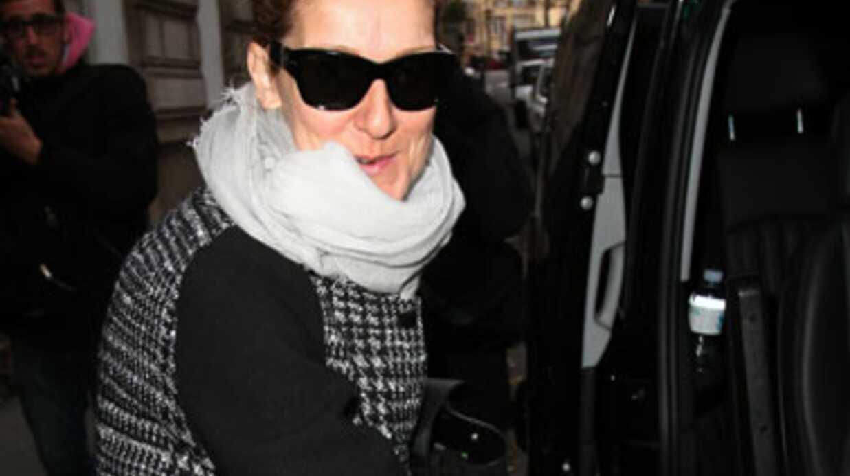 PHOTOS Céline Dion se rue chez son médecin parisien