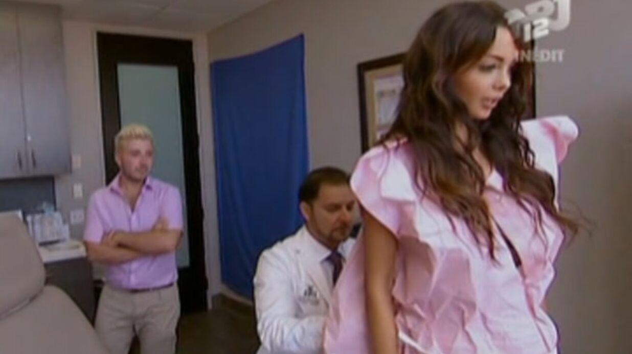 VIDEO Nabilla se fait certifier les fesses par un médecin