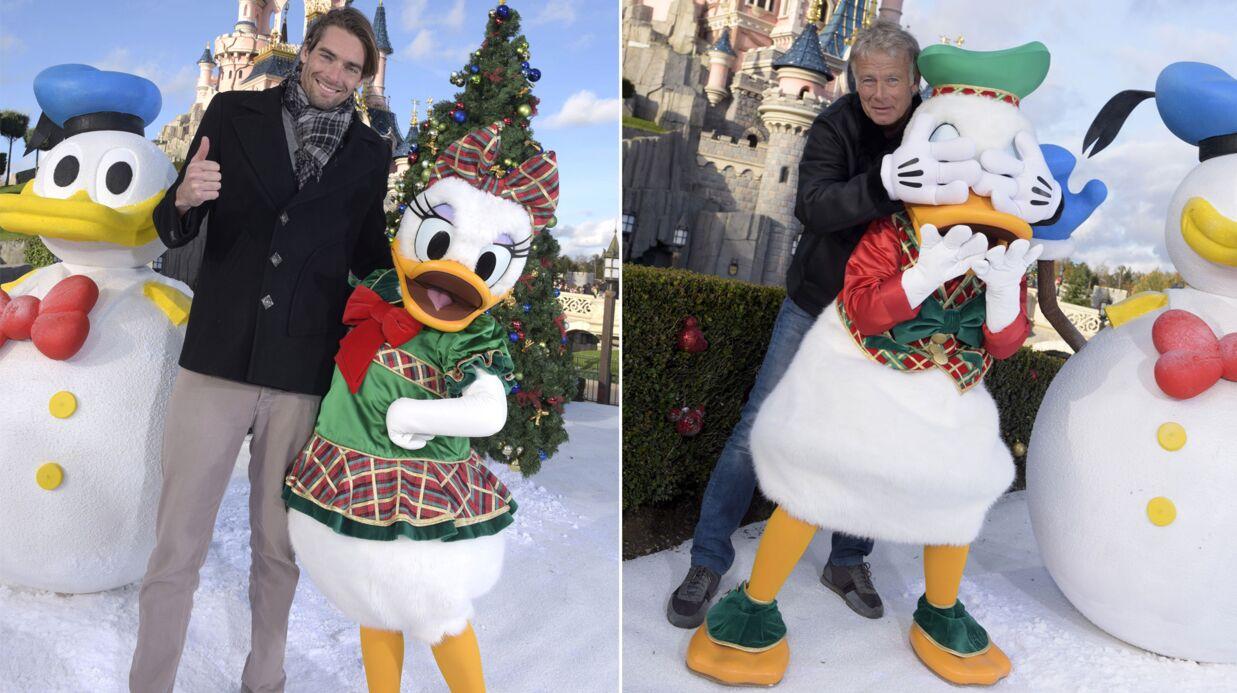 VIDEO Les people fêtent déjà Noël à Disneyland Paris