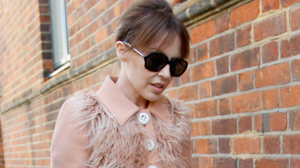 LOOK (raté):  Kylie Minogue fan des 70's
