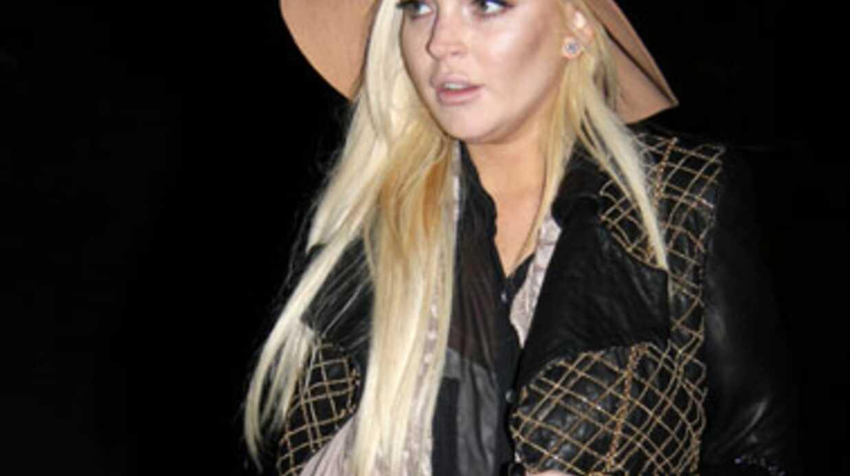 Lindsay Lohan rate son premier jour de boulot à la morgue