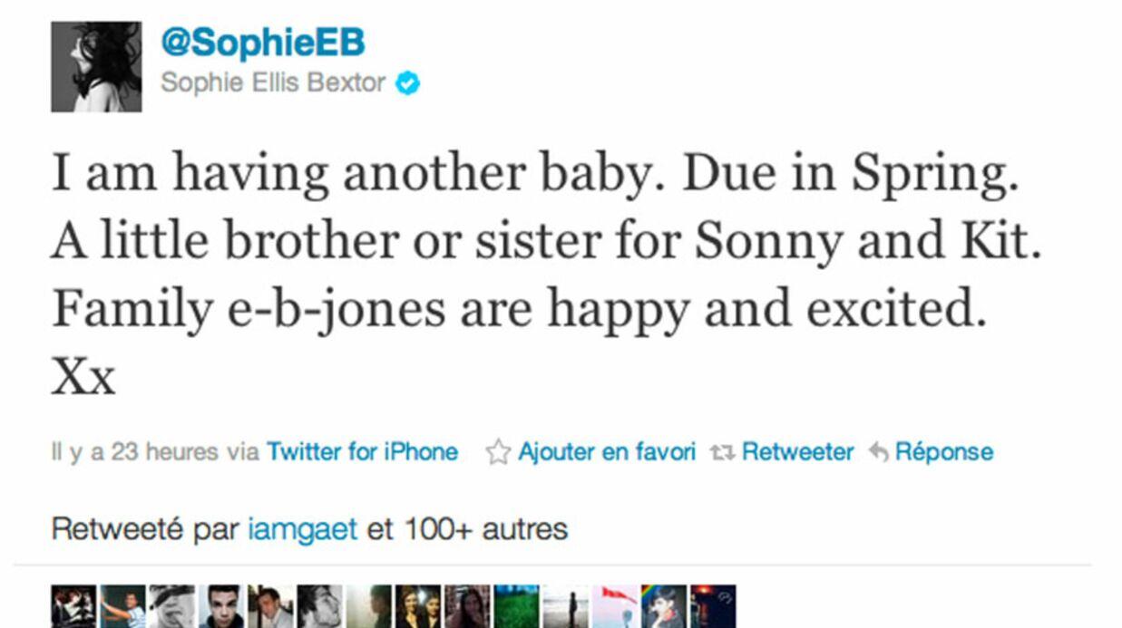 Sophie Ellis-Bextor enceinte d'un troisième enfant