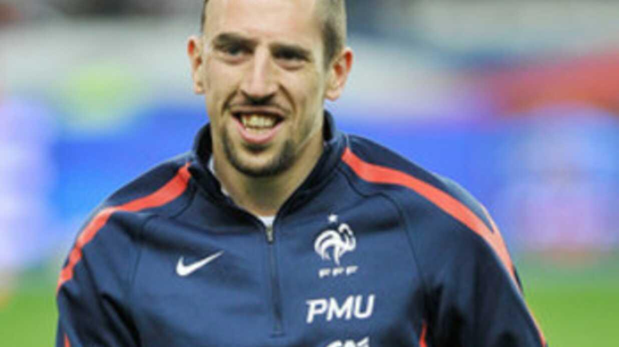 Franck Ribéry: son fils a le même prénom que celui de Kadhafi!
