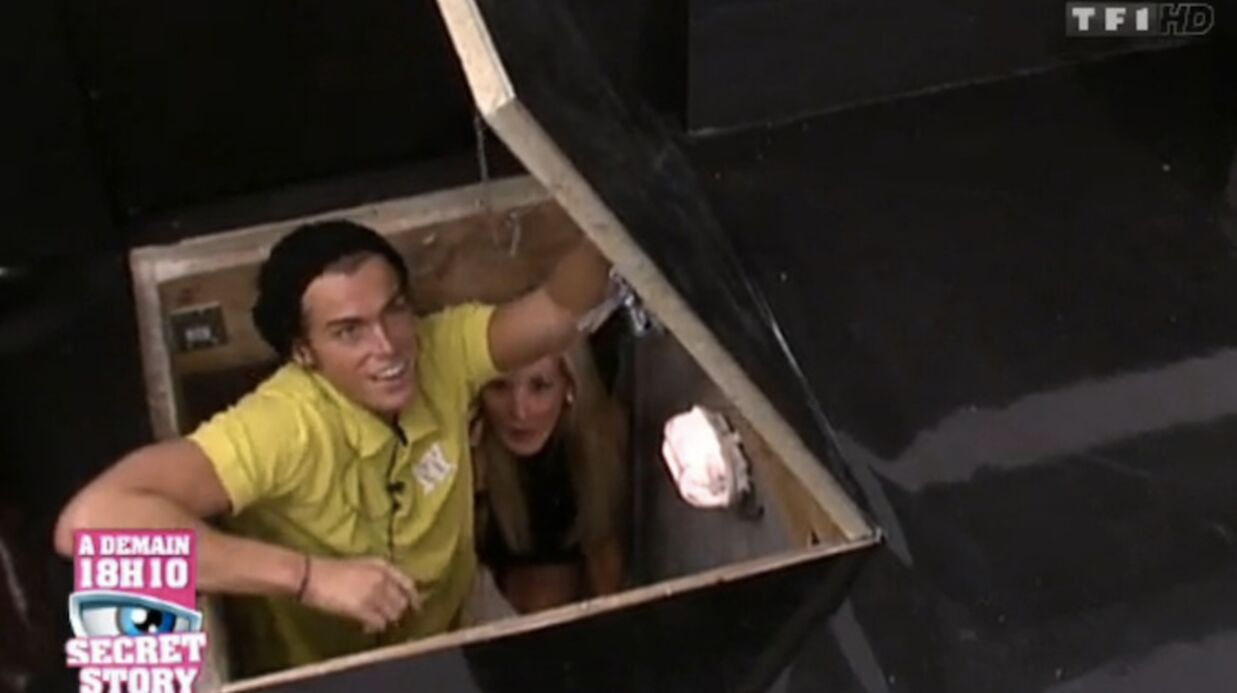 Secret Story 5: Marie et Geoffrey découvrent la cachette d'Aurélie