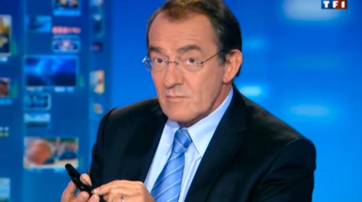 VIDEO Jean-Pierre Pernaut envoie un SMS en plein JT