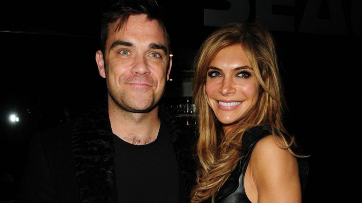 PHOTO Robbie Williams vous présente son bébé