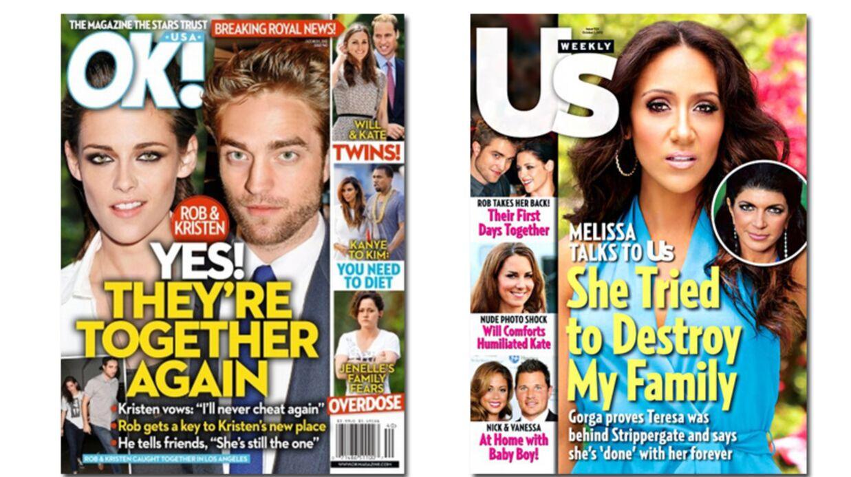 En direct des US: Kristen Stewart et Robert Pattinson remettent ça