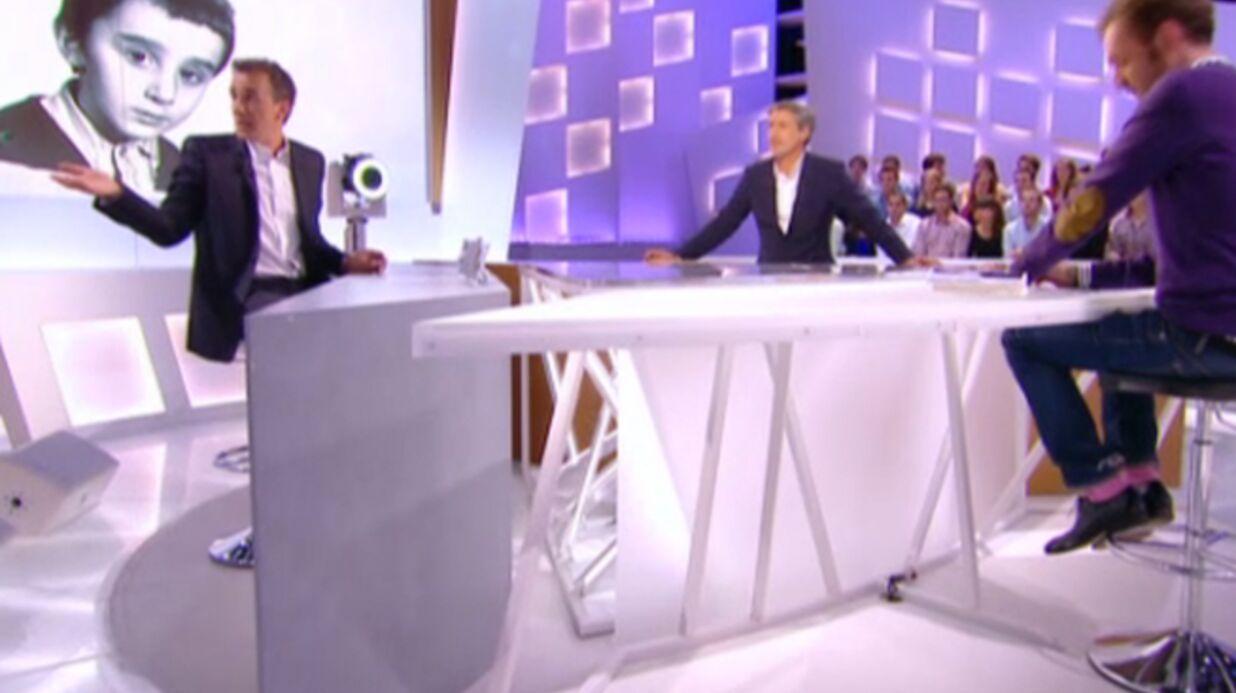 VIDEO Elie Semoun se bagarre au Grand Journal (et rate sa blague)