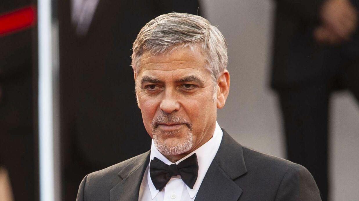 VIDEO George Clooney apprend en direct le divorce de son ami Brad Pitt: sa réaction