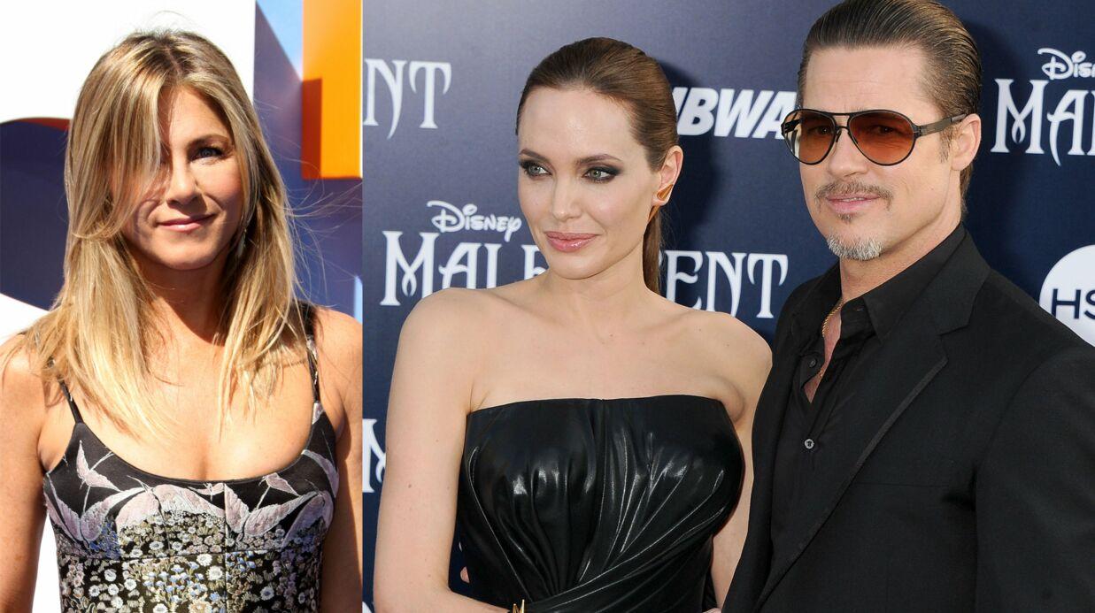 Divorce de Brad Pitt et Angelina Jolie: la réaction ironique de Jennifer Aniston