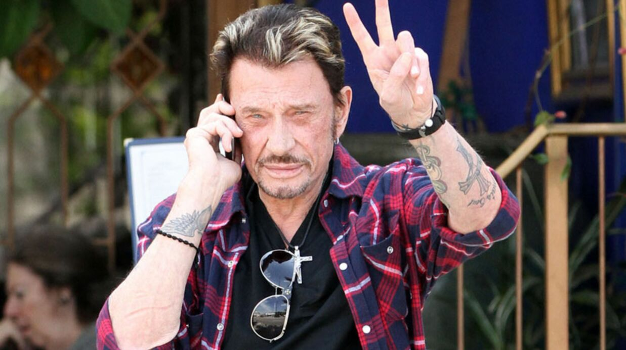 Johnny Hallyday chez Michel Drucker le 2 octobre