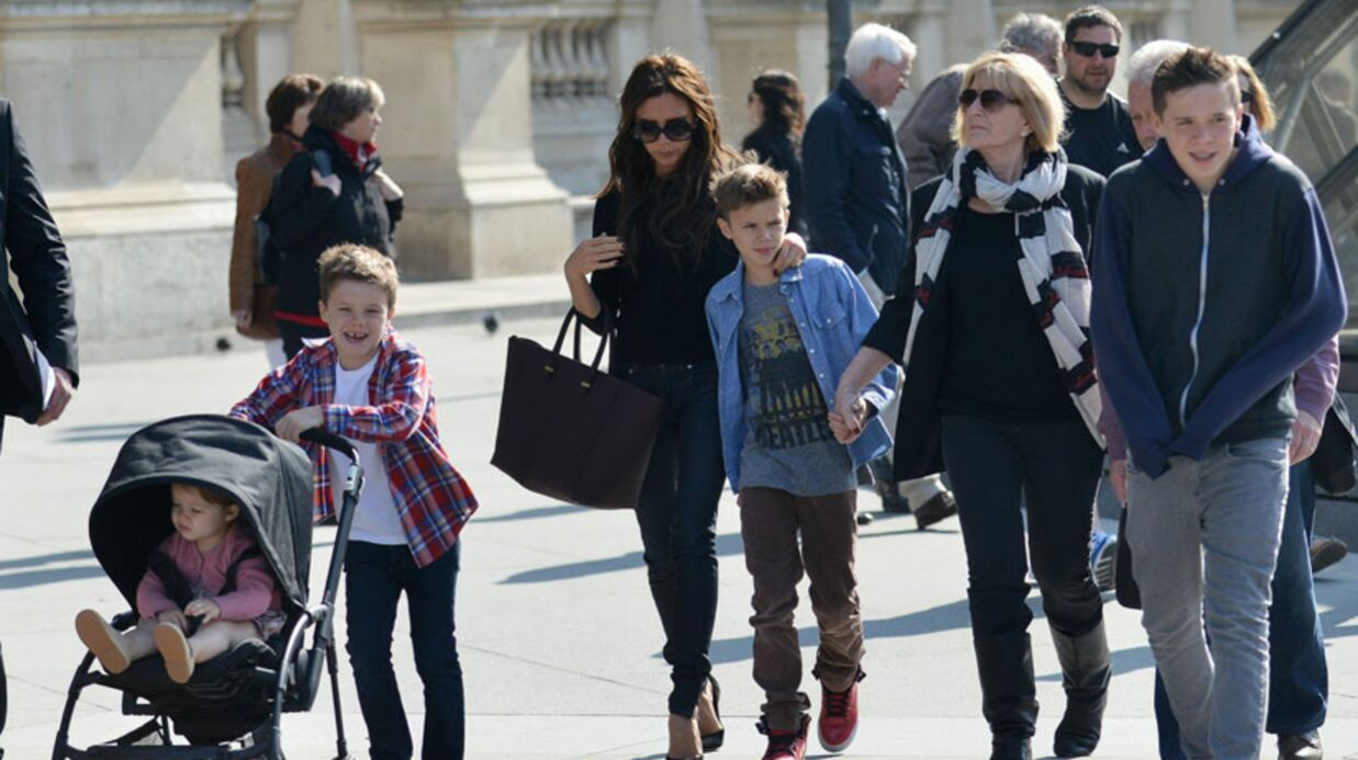 DIAPO Le week-end parisien et familial de Victoria Beckham
