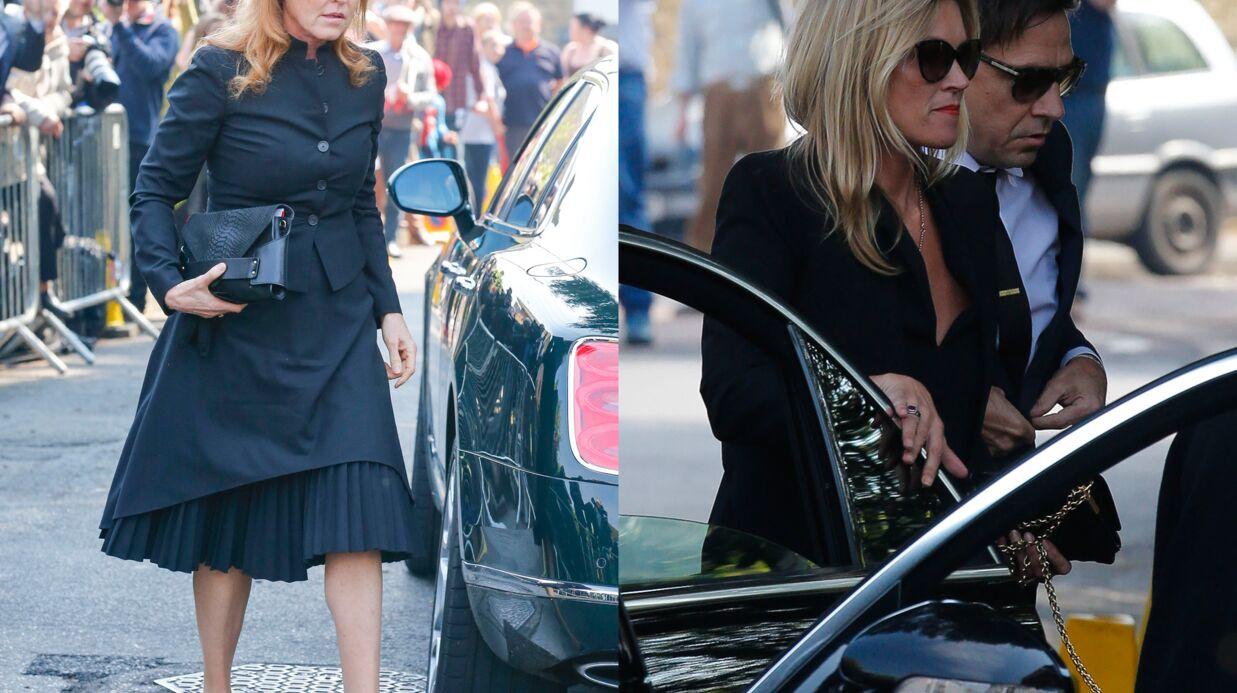 PHOTOS Obsèques de Peaches Geldof: Kate Moss et Sarah Ferguson entourent la famille