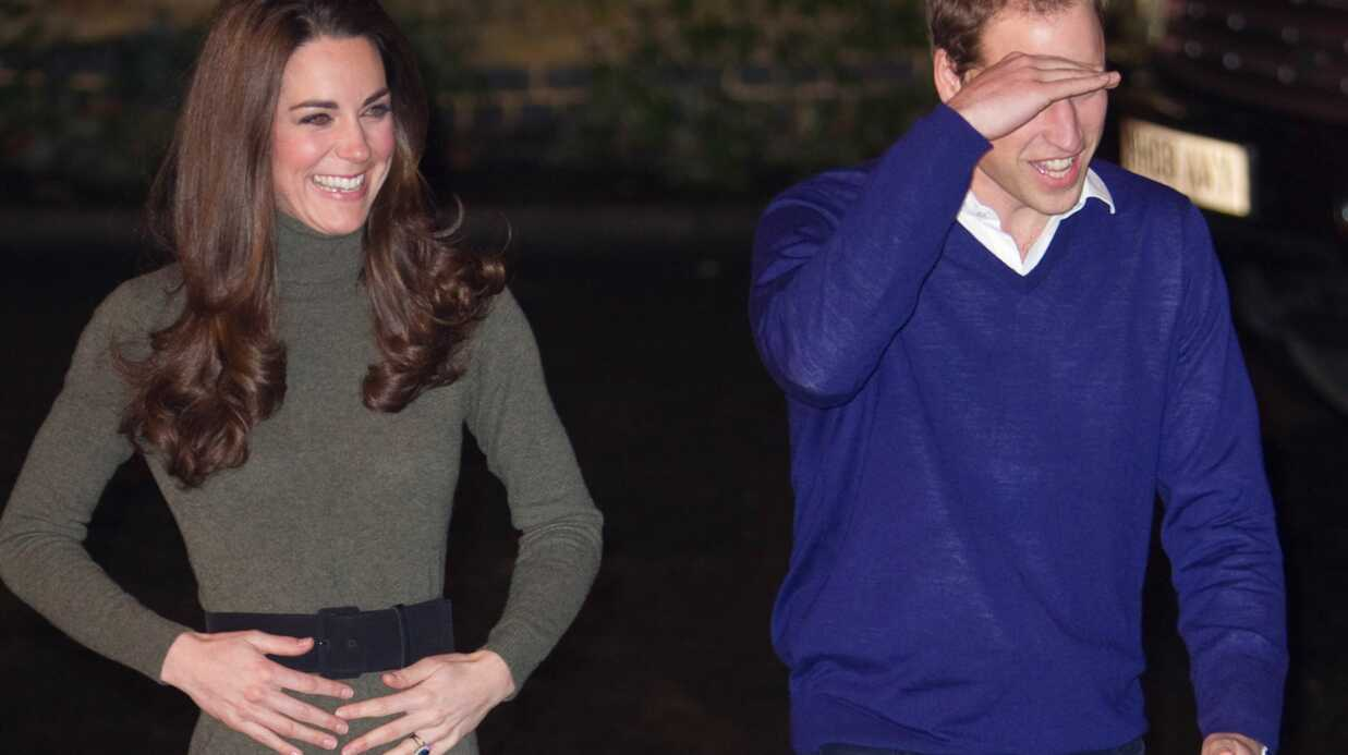 Kate Middleton: gestes mystérieux autour de son ventre