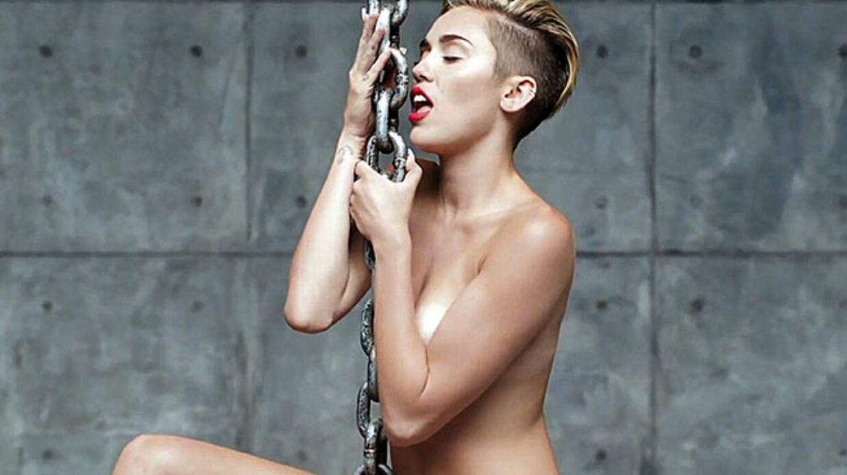 Miley Cyrus dévoile une nouvelle vidéo choc