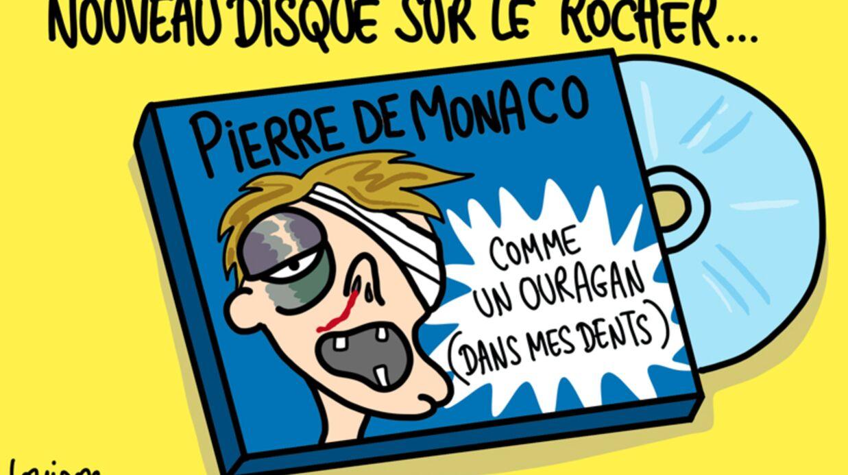 Louison a croqué… Pierre Casiraghi blessé dans une bagarre en boîte