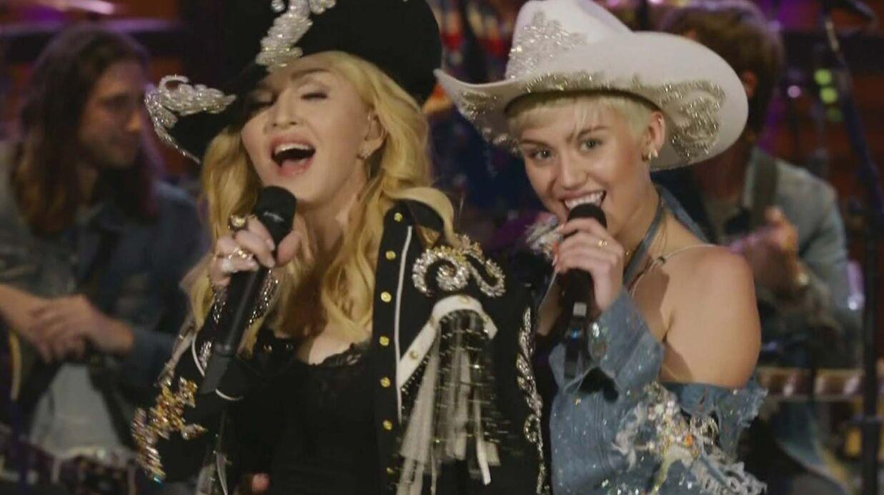 Madonna admire Miley Cyrus