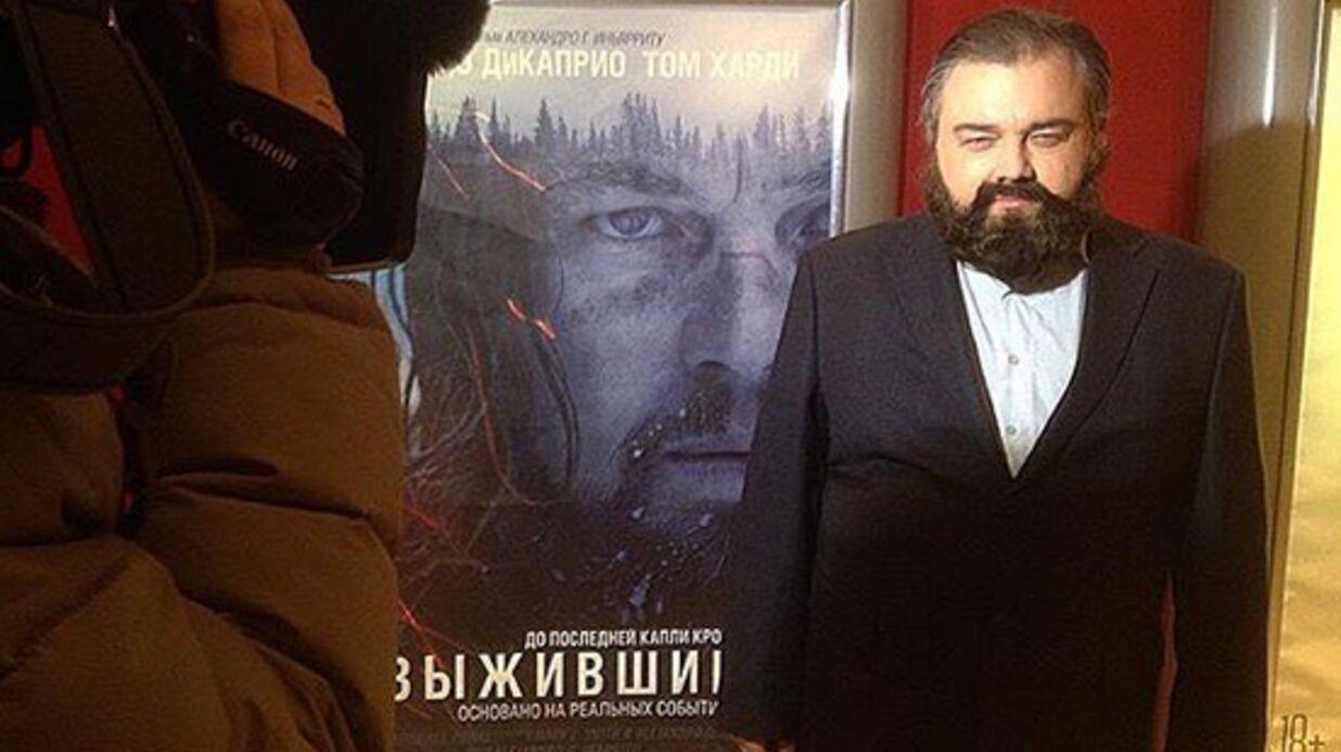 Oscars 2016: les photos hilarantes de Roman, le sosie approximatif de Leonardo DiCaprio