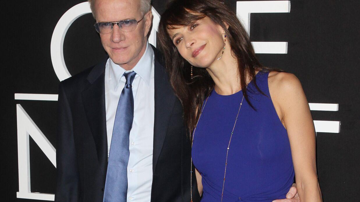 PHOTOS Sophie Marceau et Christophe Lambert amoureux au défilé Giorgio Armani Privé