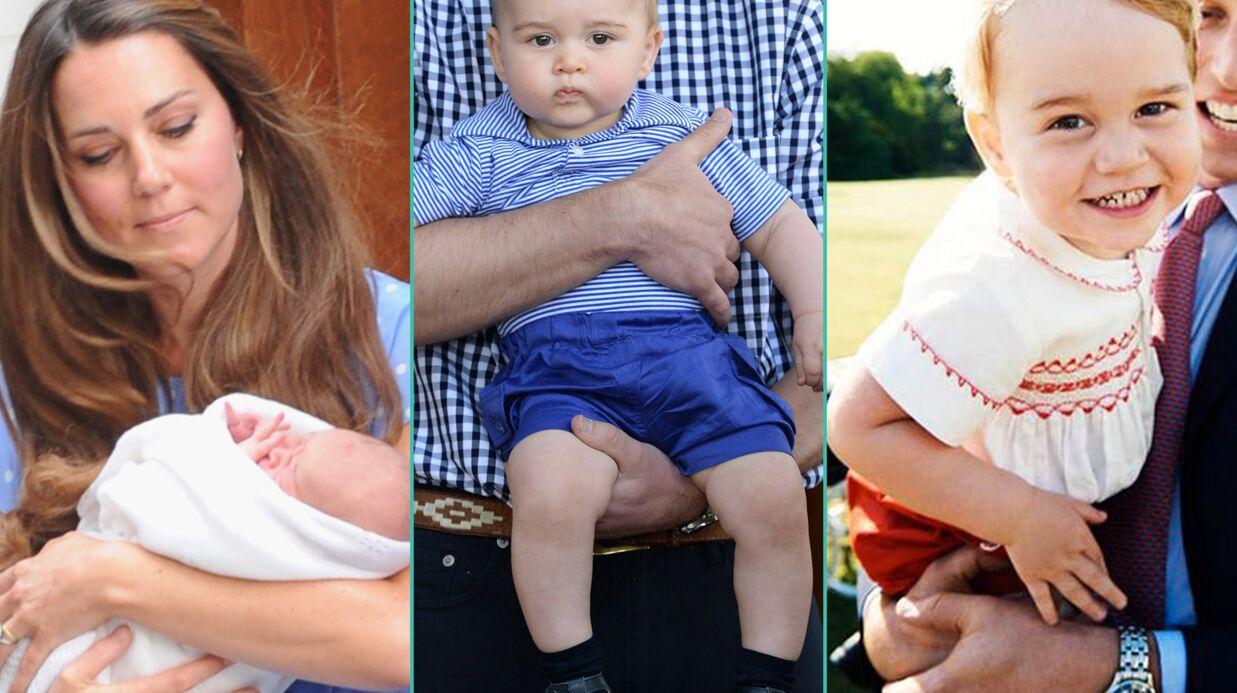 Le prince George a 2 ans: les photos les plus craquantes du fils de Kate et William