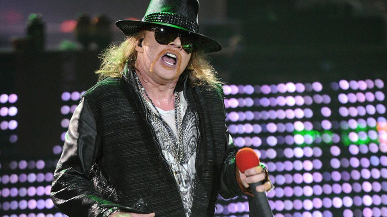 VIDEO Gros gadin d'Axl Rose (Guns N'Roses) en plein concert