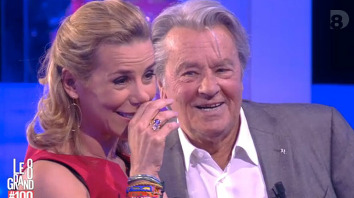 VIDEO Surprise par son mari, Laurence Ferrari fond en larmes