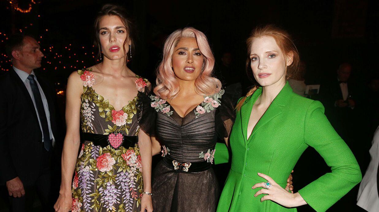 PHOTOS Cannes 2017: le nouveau look surprenant de Salma Hayek, Charlotte Casiraghi radieuse