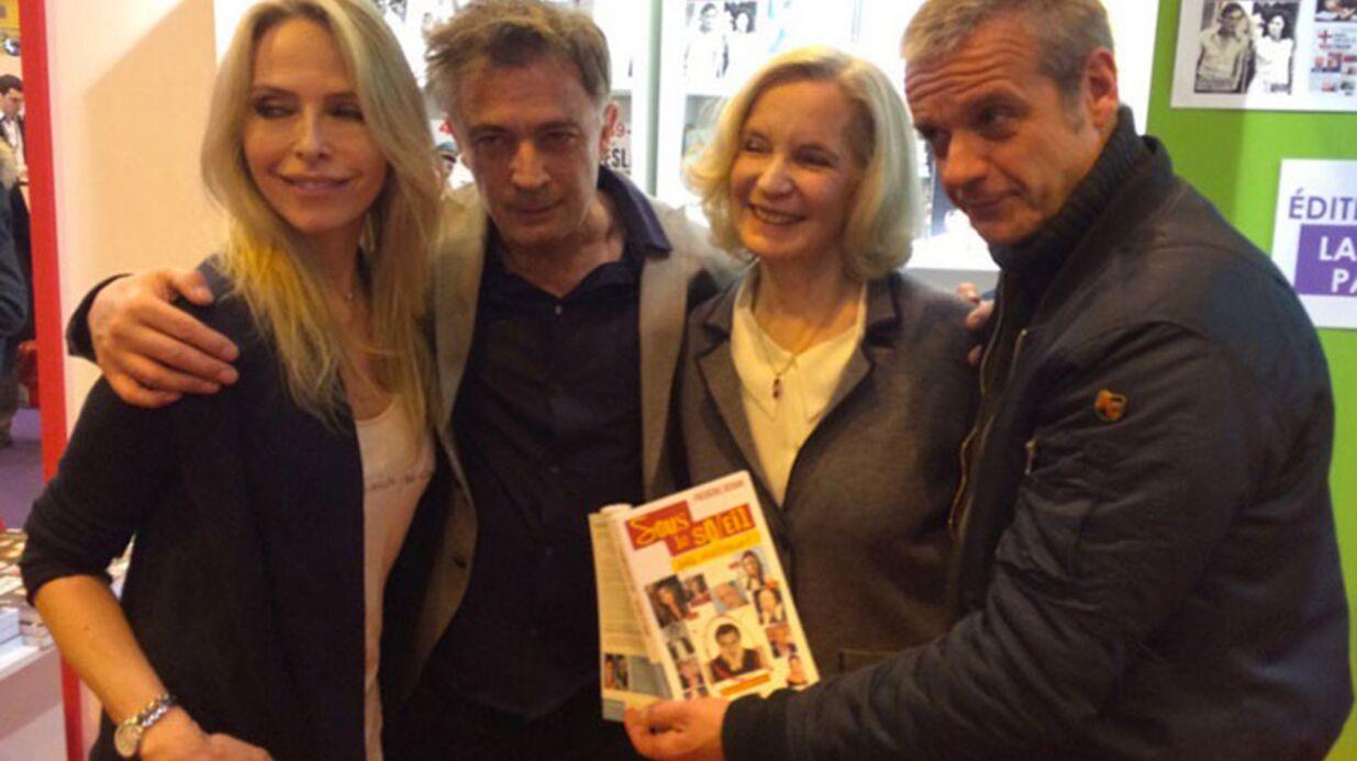 Sous le soleil: Tonya Kinzinger, David Brécourt et Marie-Christine Adam présents pour Frédéric Deban