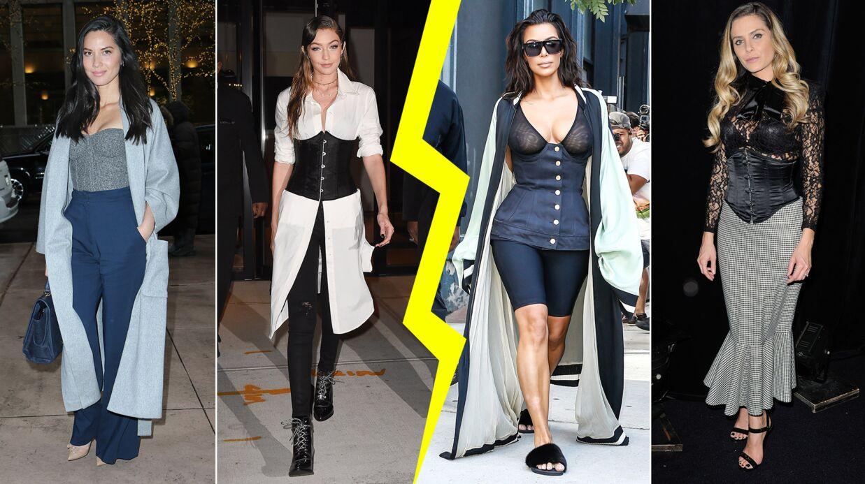 MODE Les do & don'ts de la semaine: le corset porté par les stars
