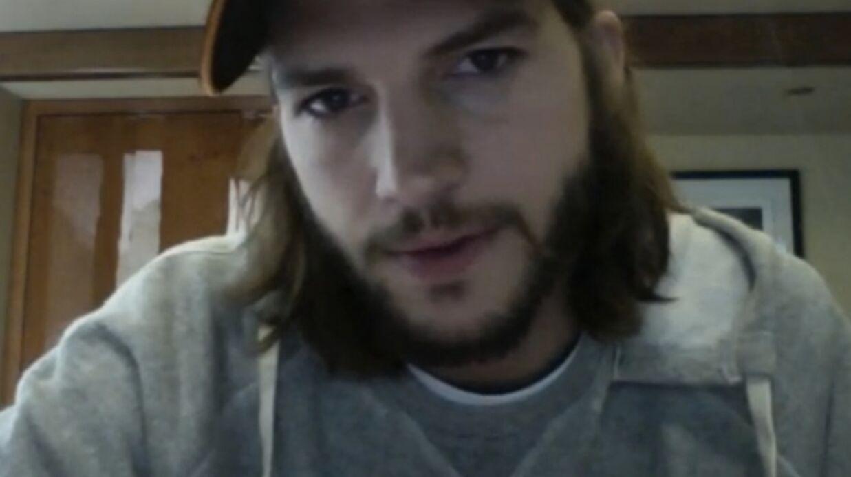 VIDEO Quand Ashton Kutcher se sent philosophe