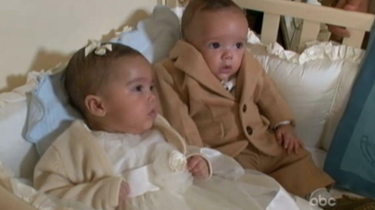 VIDEO Mariah Carey présente ses jumeaux Monroe et Moroccan