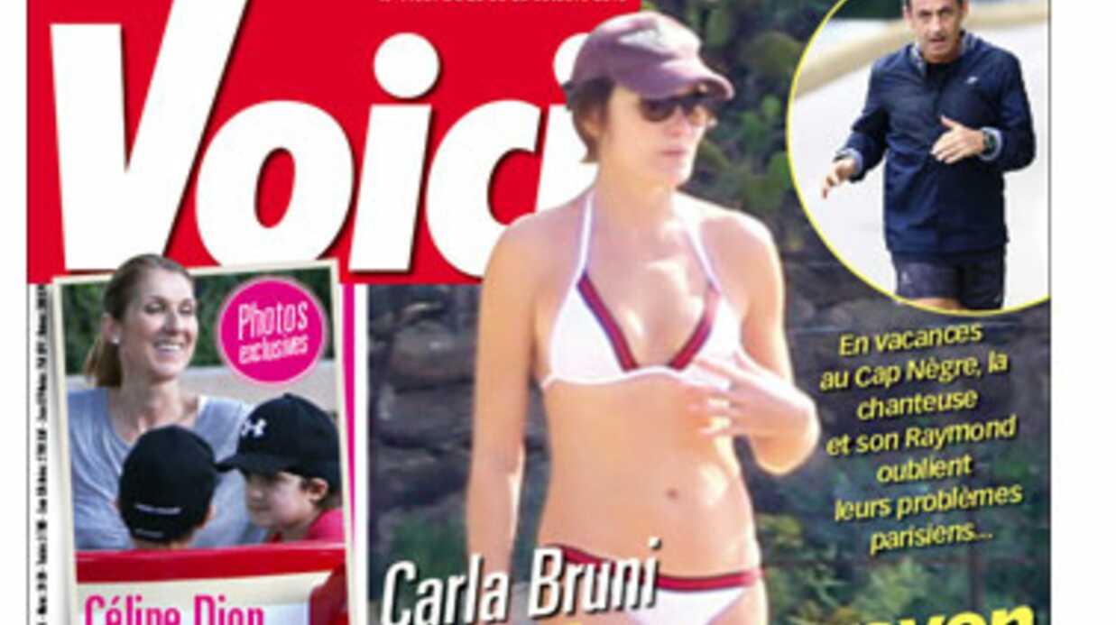Cette semaine dans Voici: le rayon de soleil de Carla Bruni