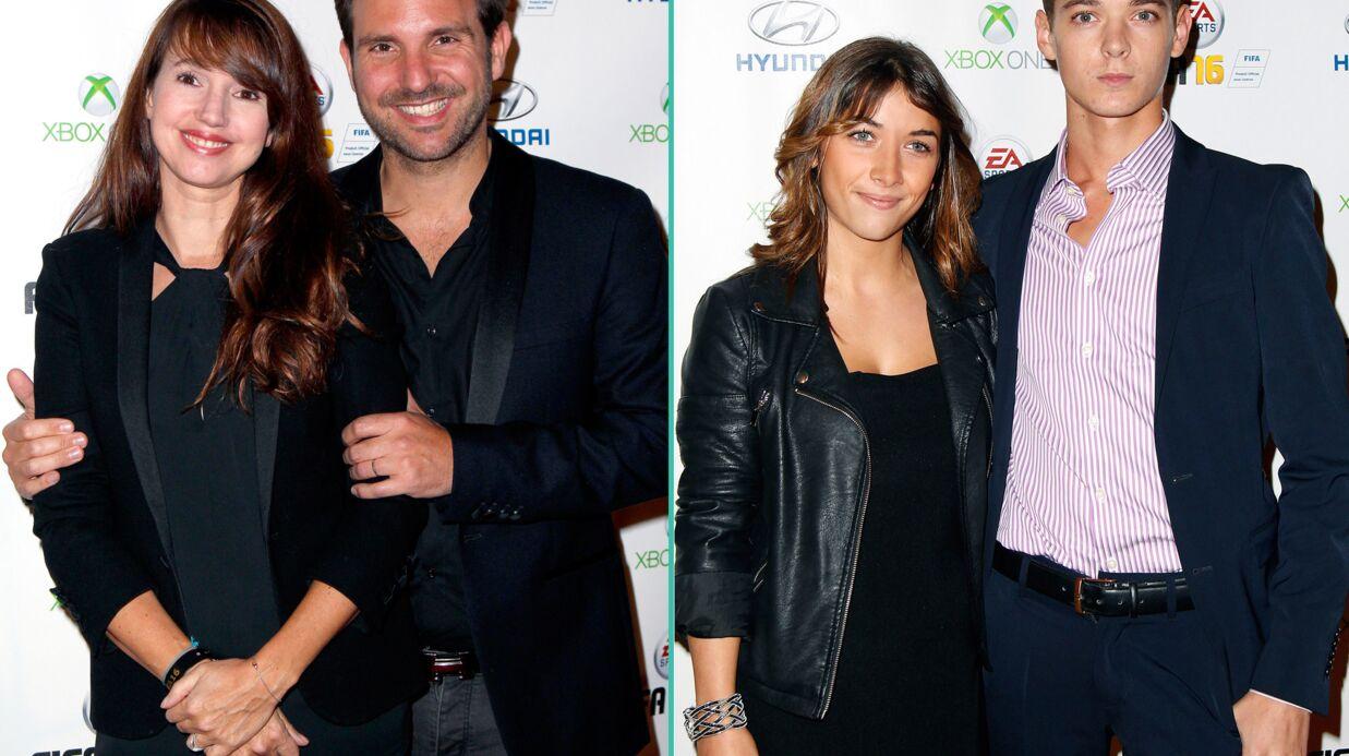 PHOTOS Christophe Michalak et sa femme, Léonard Trierweiler et son amoureuse au lancement de FIFA 2016