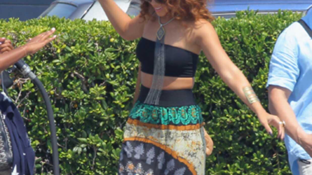 DIAPO Rihanna prend ses quartiers d'été à Saint-Tropez