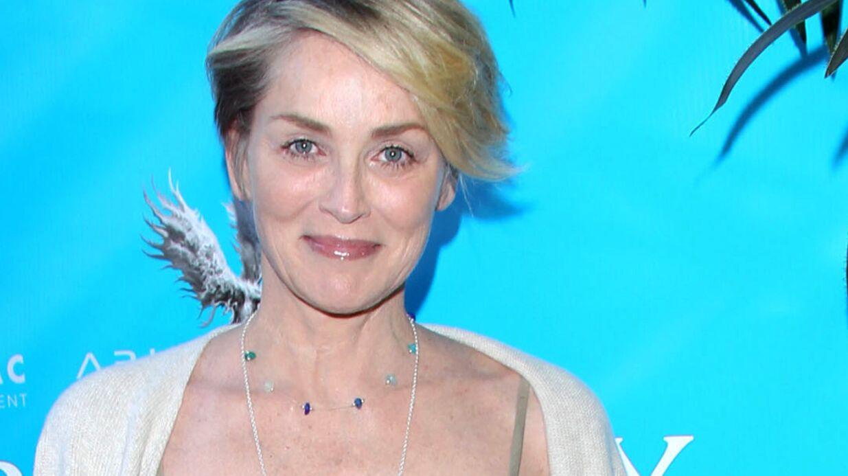 PHOTO Sharon Stone partage un cliché rare d'elle et de ses trois fils