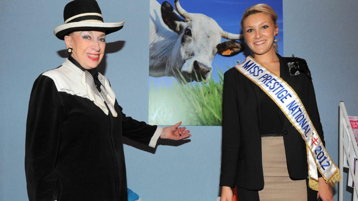 Geneviève de Fontenay s'engage pour l'élection Miss Black France