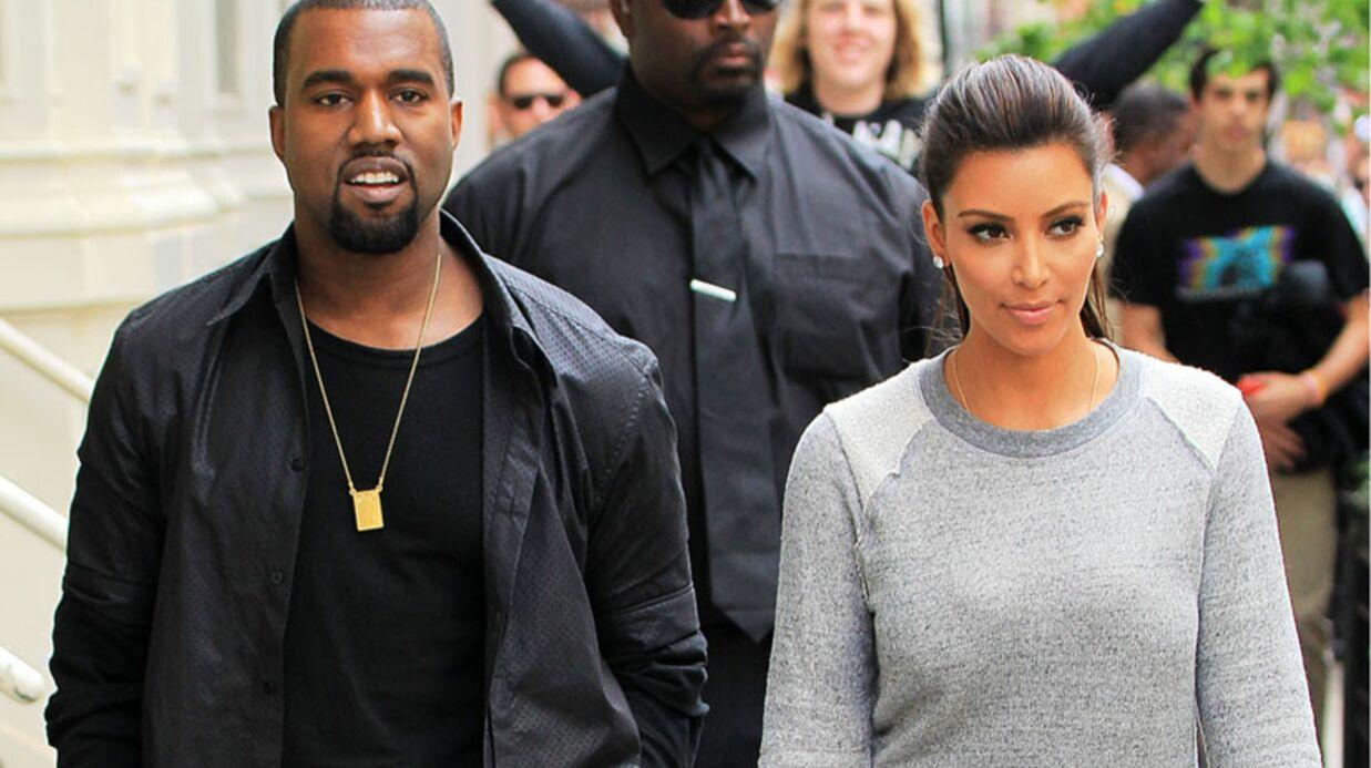 PHOTOS Kim Kardashian porte une boucle d'oreille Kanye West
