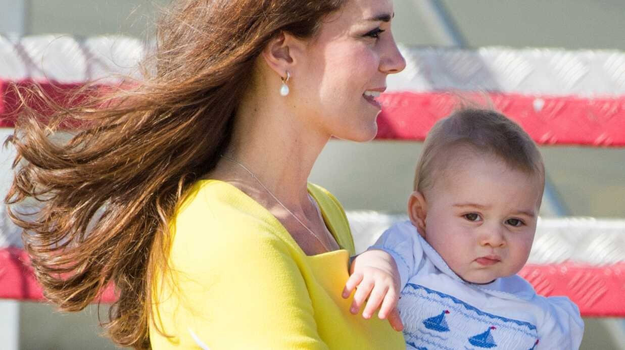 Kate Middleton s'inquiète: le prince George a trop grossi!