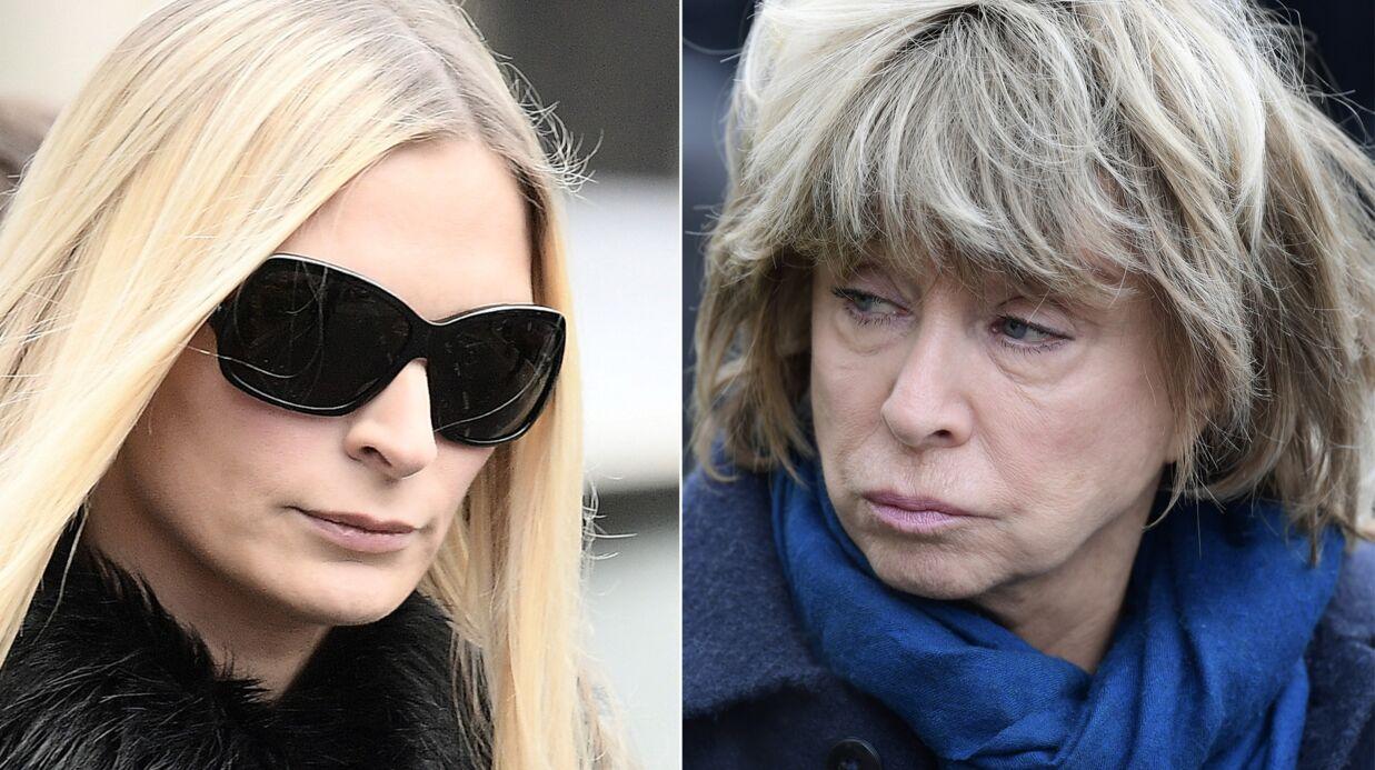 Obsèques de Michèle Morgan: Sarah Marshall et Danièle Thompson unies dans la douleur