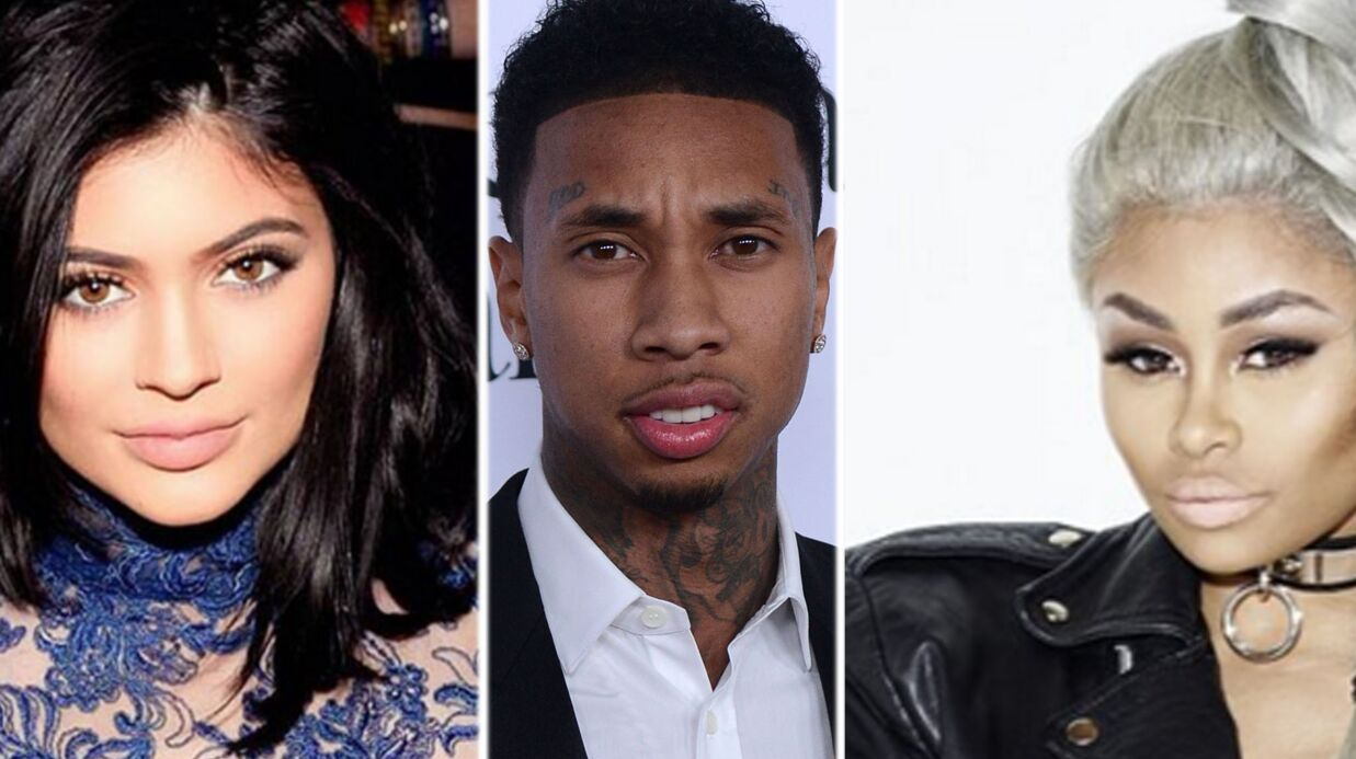 Kylie Jenner:  Tyga vient à sa rescousse après un clash de Blac Chyna