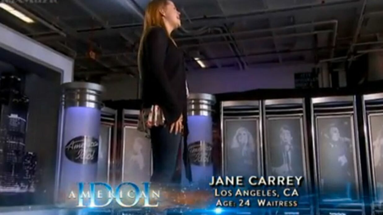 VIDEO Jim Carrey : sa fille candi­date d'Ame­ri­can Idol