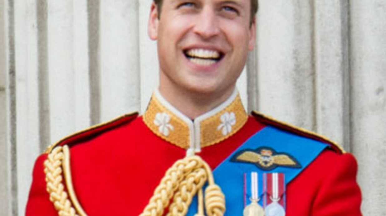 Le prince William, fou de joie, réagit à la nais­sance de son fils