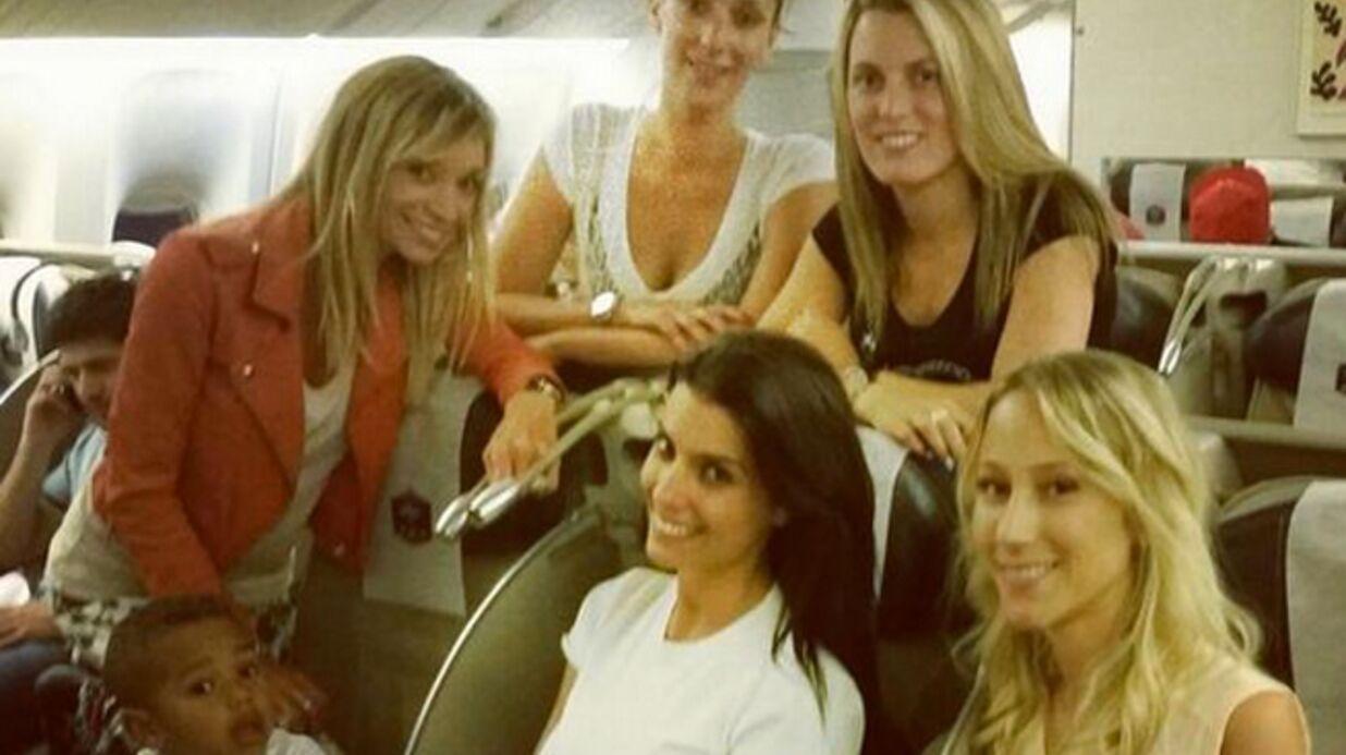 PHOTOS Les femmes des Bleus en route pour le Brésil! Découvrez-les