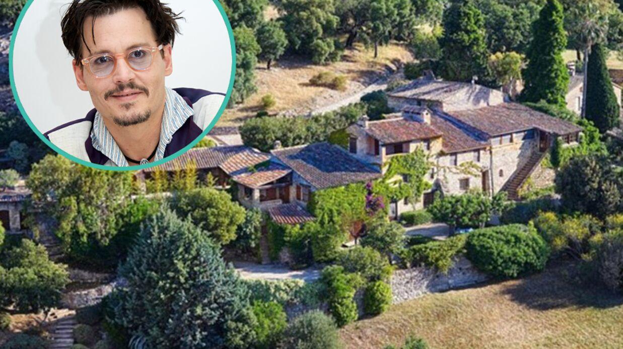 PHOTOS Visitez la sublime propriété varoise que vend Johnny Depp